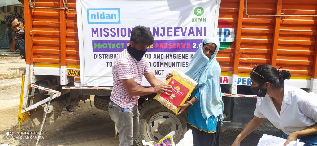 Dry Ration Kits Distribution